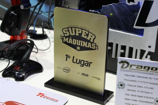 Vencedora do prêmio Súper Máquinas da Intel - Foto: Rafael Bugni Costa