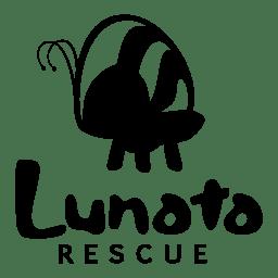 Logo Lunata Rescue Preta transp