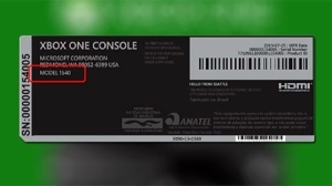 XboxOne Homologado Anatel